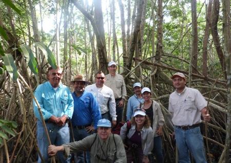 FAO y PNUD visitan BANASA