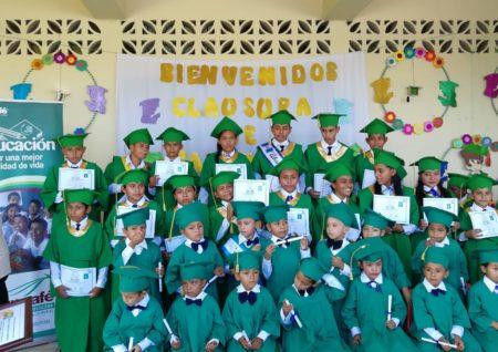 Escuela Mojarras graduacion 2018.1
